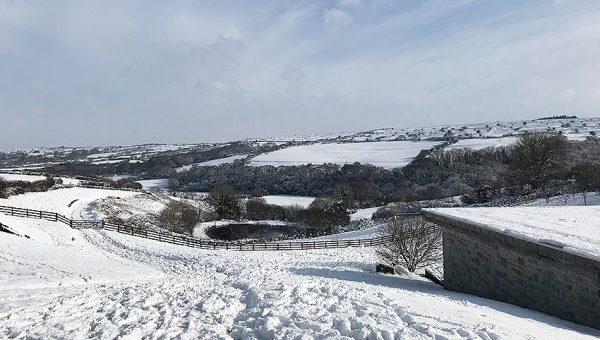 Helsbury in the Snow